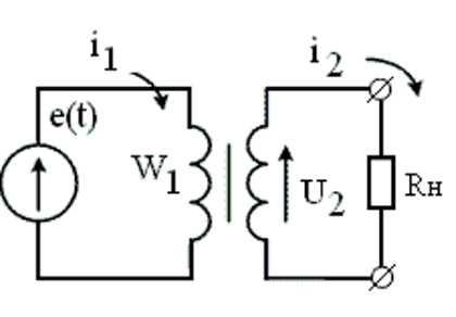 Схема подключения импульсного трансформатора