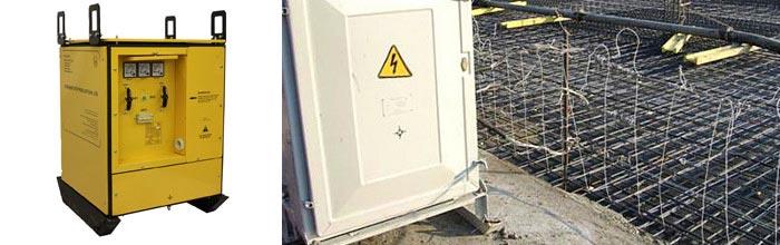 трансформатор прогрева бетона
